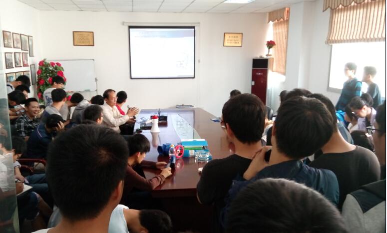 福建工程学院学生来我司厂区进行参观学习!